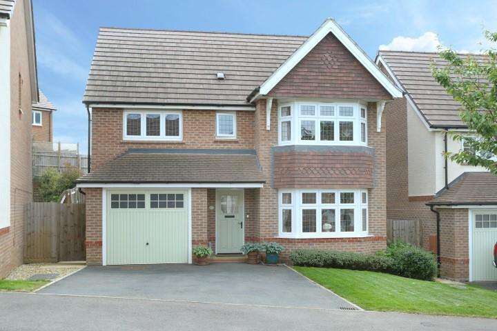 4 Bedrooms Detached House for rent in Jack Cumberland Road, Market Harborough