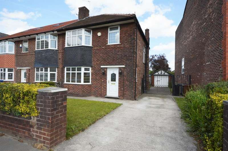 3 Bedrooms Semi Detached House for sale in Wellington Road North, Heaton Chapel