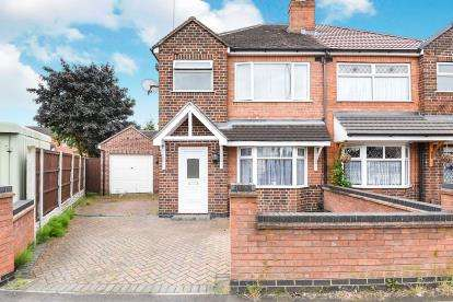 3 Bedrooms Semi Detached House for sale in Boulton Lane, Shelton, Derby, Derbyshire