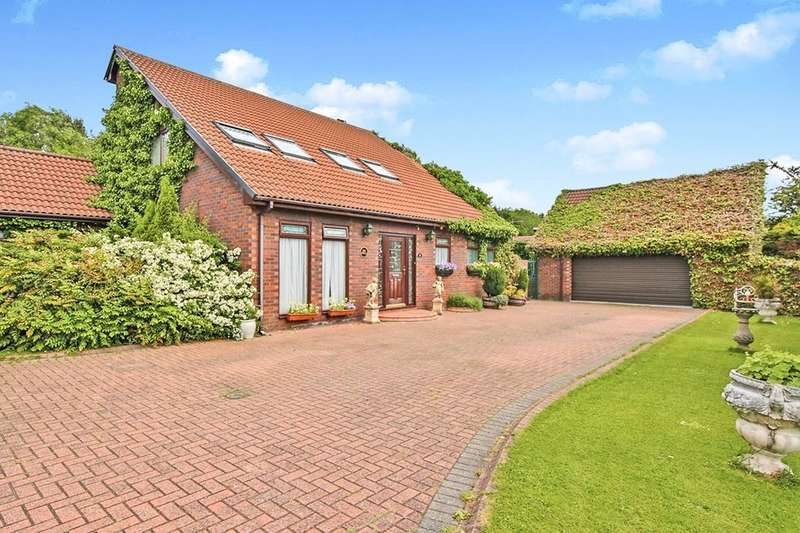 4 Bedrooms Detached House for sale in Wentworth Drive, Washington, NE37