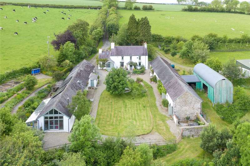 6 Bedrooms Detached House for sale in Pantyporthman, Bancyffordd, Llandysul, Carmarthenshire