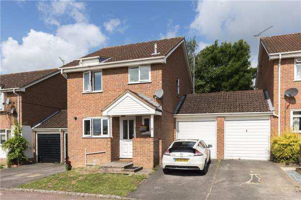 3 Bedrooms Link Detached House for sale in Tilney Way, Lower Earley, Reading
