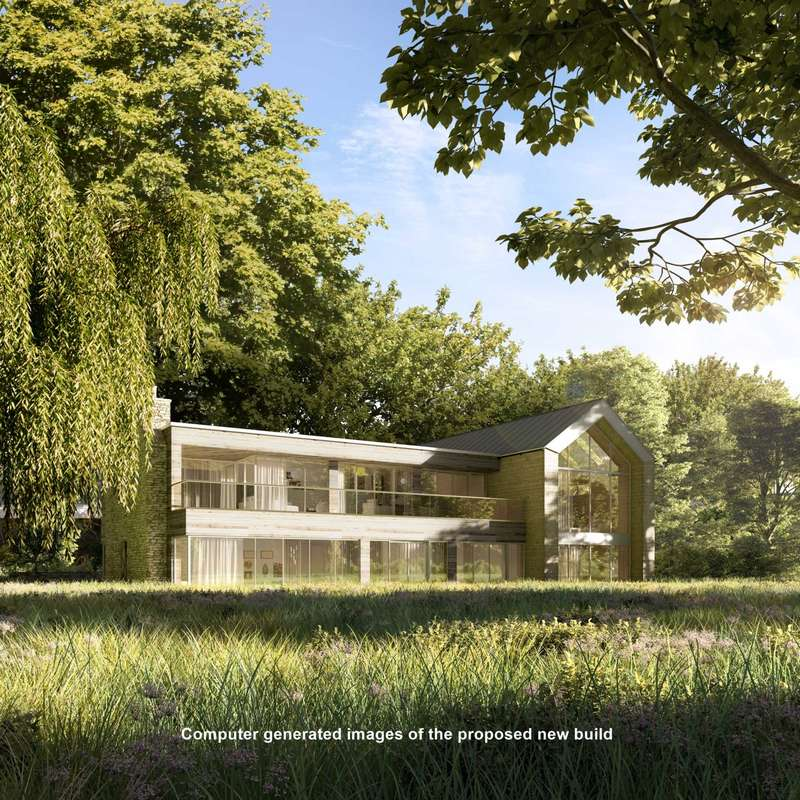 5 Bedrooms Detached House for sale in 678 sq m / 7,300 sq ft Building plot - The Avenue, Bucklebury Common, Berkshire