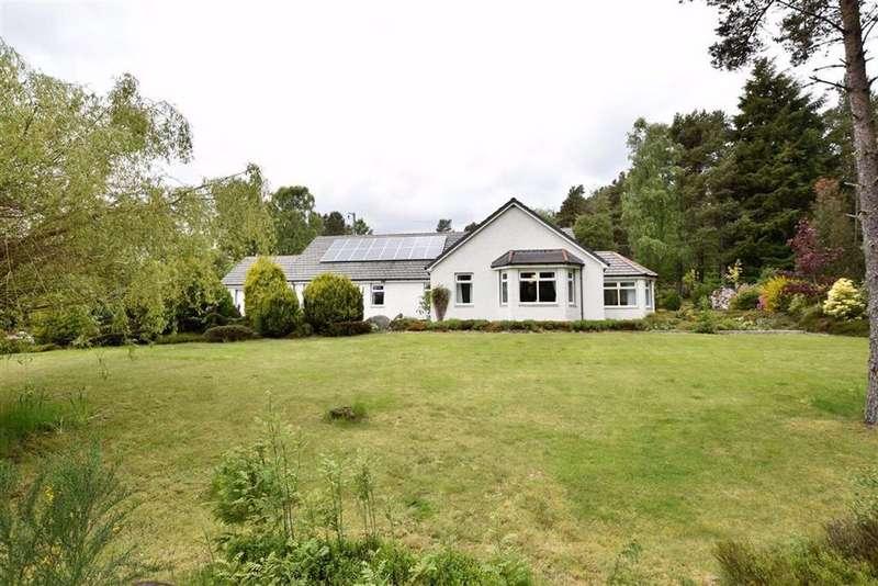 4 Bedrooms Detached Bungalow for sale in Lamington, Kildary, Invergordon