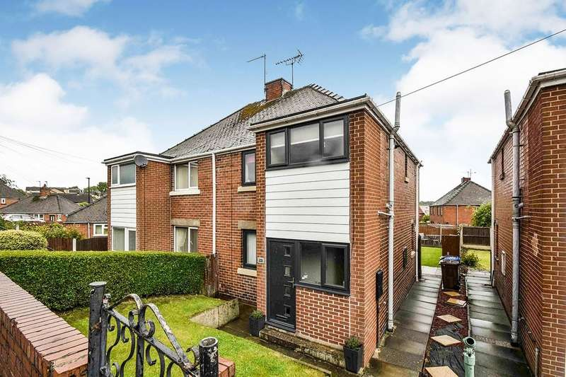 3 Bedrooms Semi Detached House for sale in South Road, High Green, Sheffield, S35