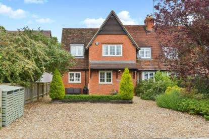 4 Bedrooms Semi Detached House for sale in Potterspury Lodge, Potterspury, Towcester, Northamptonshire