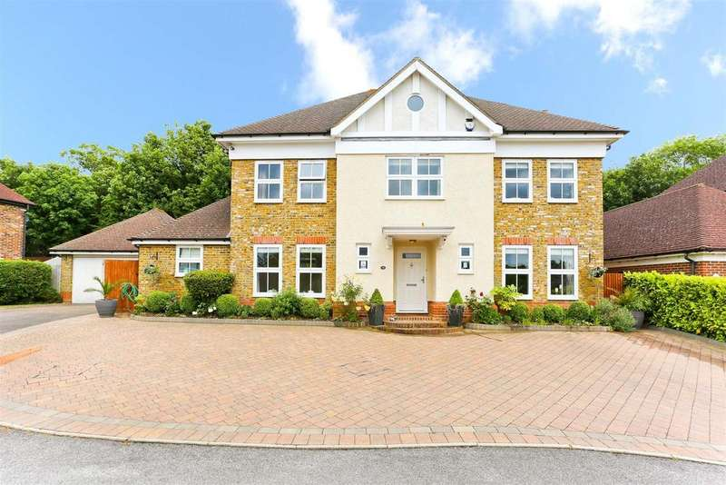 5 Bedrooms Detached House for sale in Wellfield Gardens, Carshalton