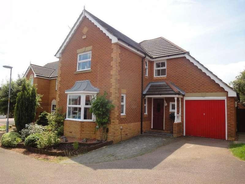 4 Bedrooms Detached House for sale in Gatehill Gardens, Barton Hills, Luton, Bedfordshire, LU3 4EZ
