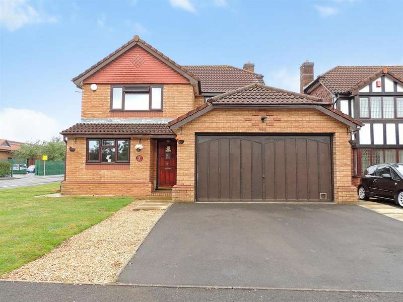 4 Bedrooms Detached House for sale in Causley Drive, Barrs Court, Bristol