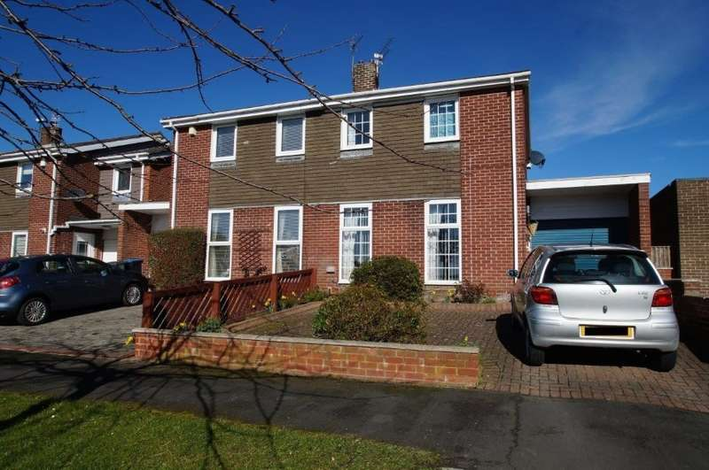 3 Bedrooms Semi Detached House for sale in 79 Norburn Park, Witton Gilbert, Durham