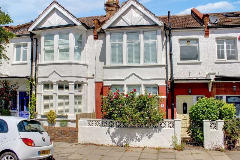3 Bedrooms Terraced House for sale in Burlington Road, Muswell Hill, London