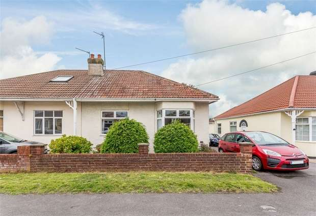 3 Bedrooms Semi Detached Bungalow for sale in Cleeve Park Road, Bristol, Gloucestershire