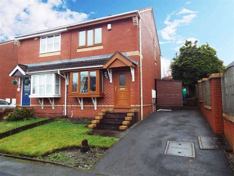 3 Bedrooms Semi Detached House for rent in Sunhill Close, Oldham