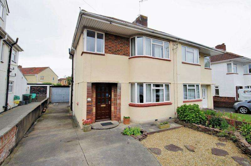 3 Bedrooms Semi Detached House for sale in Ravenscourt Road, Patchway, Bristol
