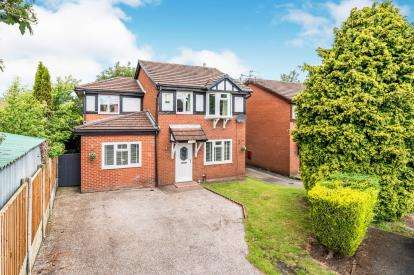 3 Bedrooms Detached House for sale in Rochester Close, Golborne, Warrington, Greater Manchester