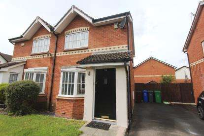 2 Bedrooms Semi Detached House for sale in Fenside Road, Sharston, Greater Manchester, .