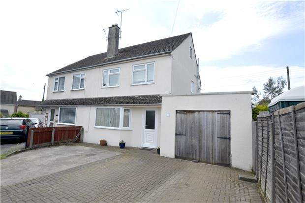 4 Bedrooms Semi Detached House for sale in St Michaels Place, Stroud, Glos, GL5 4PJ