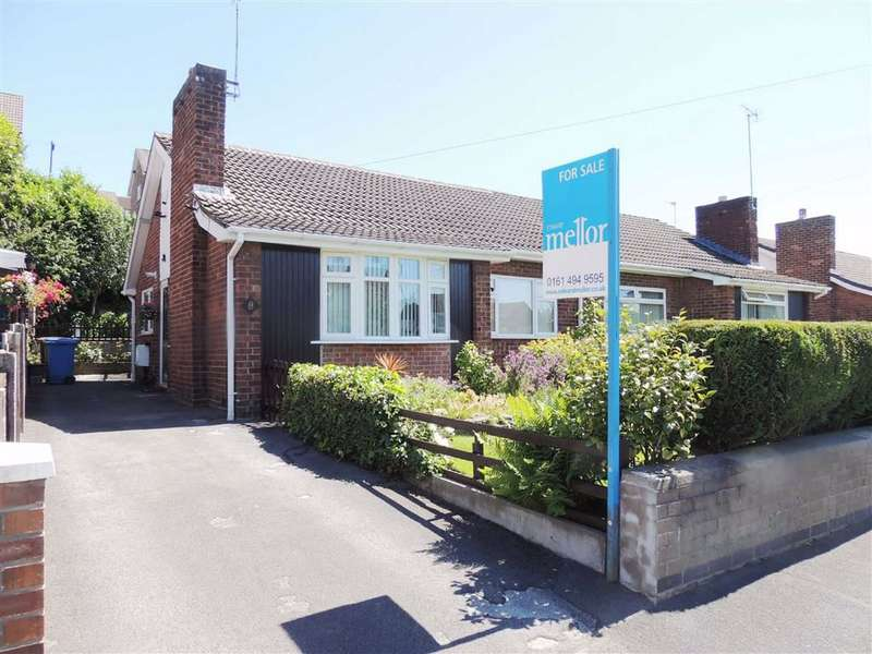 2 Bedrooms Semi Detached Bungalow for sale in Kay Avenue, Bredbury, Stockport