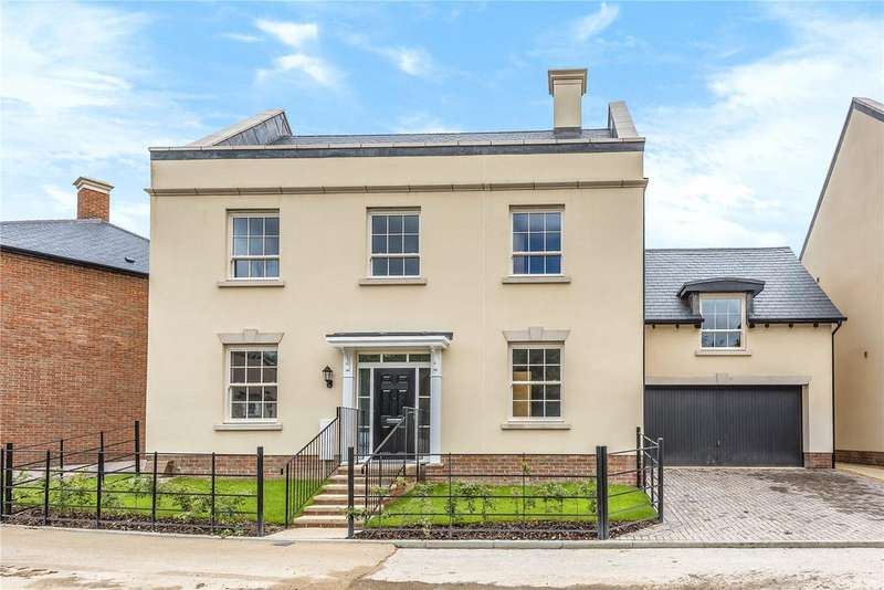 5 Bedrooms Detached House for sale in The Wickham, 25 Manor Road, Winchester Village, Hampshire, SO22