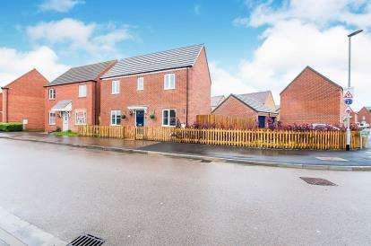 3 Bedrooms Detached House for sale in Nicolette Way, Spalding, Lincolnshire, England