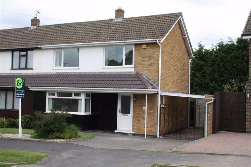 3 Bedrooms Semi Detached House for sale in Loxley Road, Glenfield