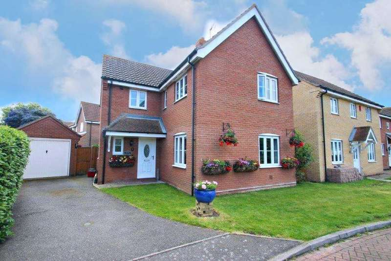 4 Bedrooms Detached House for sale in Bromley Close, Clacton-on-Sea