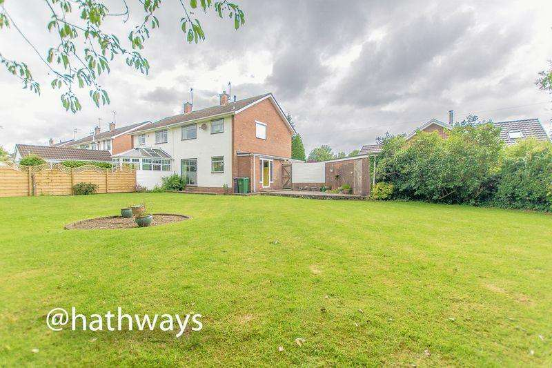 3 Bedrooms Semi Detached House for sale in Moyle Grove, Ponthir