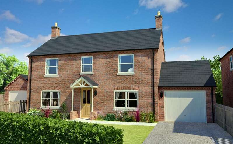 4 Bedrooms Detached House for sale in Blackthorn Lane, Off Stanhope Road, Horncastle, LN9 5EL