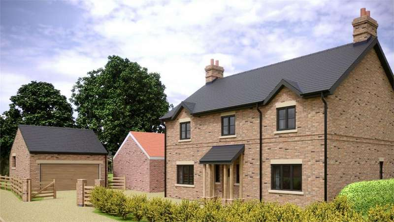 4 Bedrooms Detached House for sale in Eastern Pastures, Thorganby, York