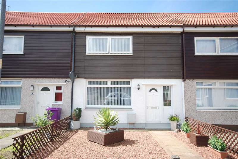 2 Bedrooms Terraced House for sale in Burns Place, Kilwinning