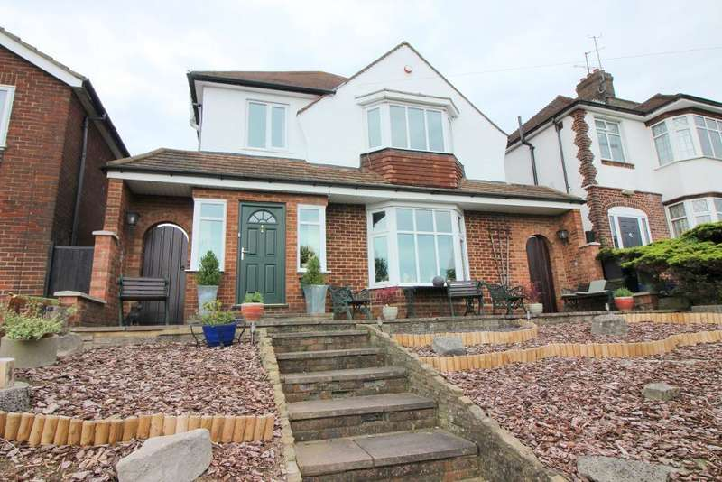 4 Bedrooms Detached House for sale in Stockingstone Road, Luton, Bedfordshire, LU2 7NJ
