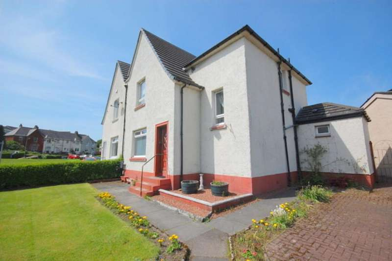 4 Bedrooms Semi Detached House for sale in Kilbowie Road, Clydebank G81 2AX