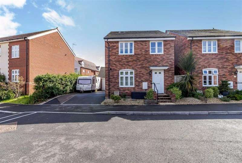 4 Bedrooms Detached House for sale in Clos Ystwyth, Caldicot, Monmouthshire