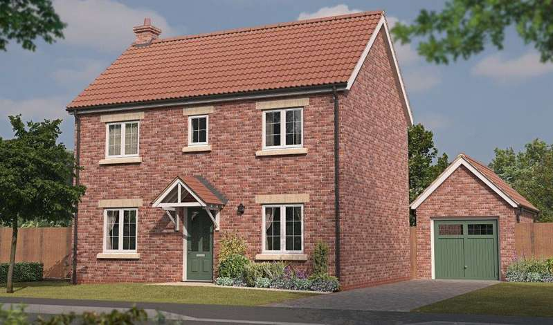 3 Bedrooms Detached House for sale in Keighley, Plot 153 Tuplin Road, Mablethorpe