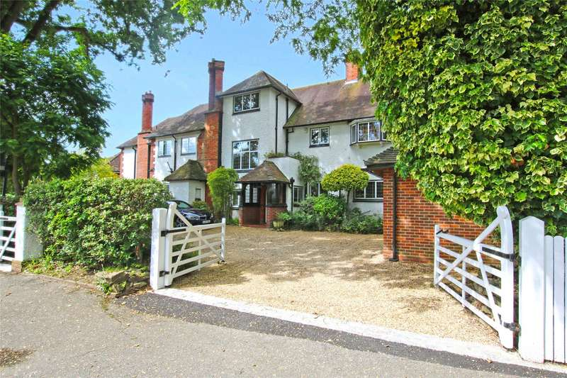 7 Bedrooms Detached House for sale in Oakcroft Road, West Byfleet, Surrey, KT14