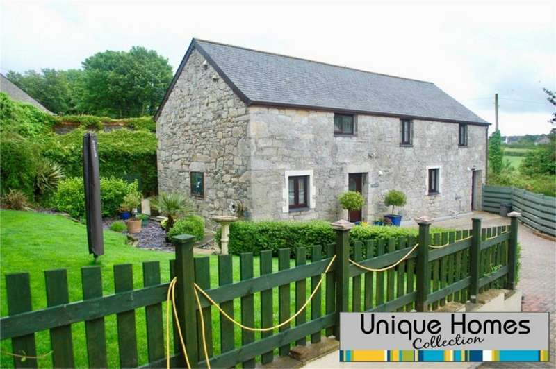 4 Bedrooms Barn Conversion Character Property for sale in Treneague Farm, St Stephen, Cornwall