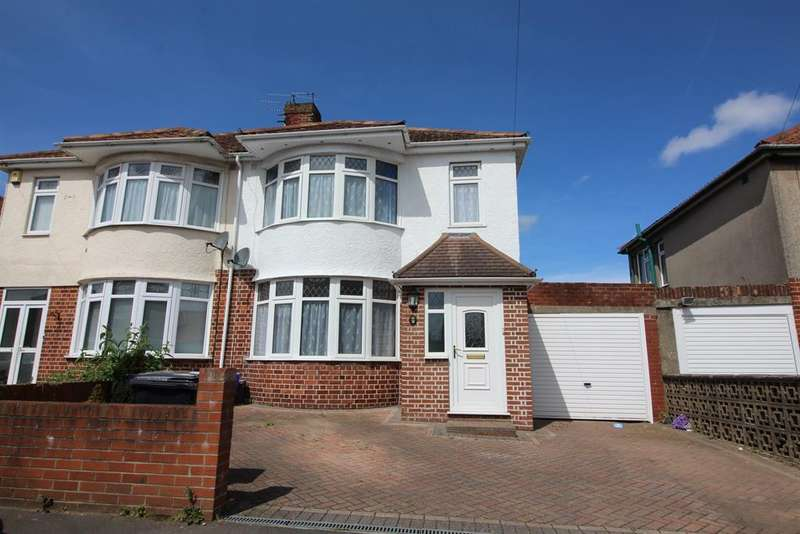 3 Bedrooms Semi Detached House for sale in Maywood Crescent, Fishponds, Bristol, BS16 4AW