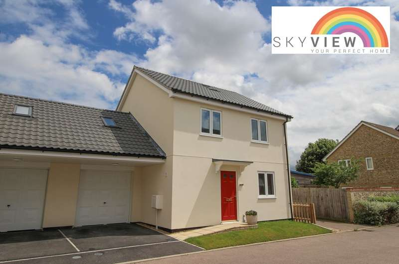3 Bedrooms Semi Detached House for sale in School Close, Lakenheath