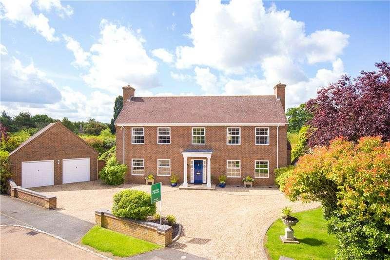 4 Bedrooms Detached House for sale in Hampden Court, Biddenham, Bedford, Bedfordshire