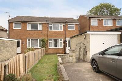 3 Bedrooms Semi Detached House for rent in Meadow View Road, Sheffield, Greenhill, S8