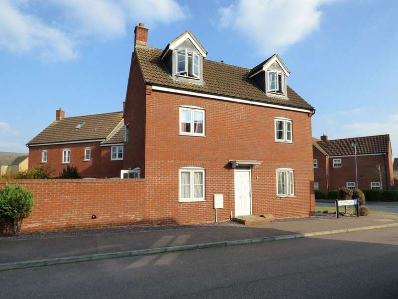 4 Bedrooms End Of Terrace House for sale in Langlands Road, Bedford MK41