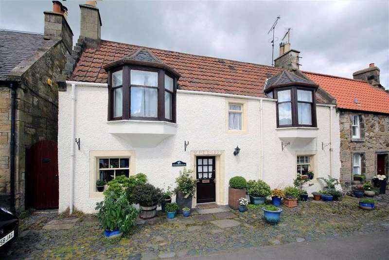 3 Bedrooms Semi Detached House for sale in Dundrennan, Horsemarket, Falkland, Fife, KY15