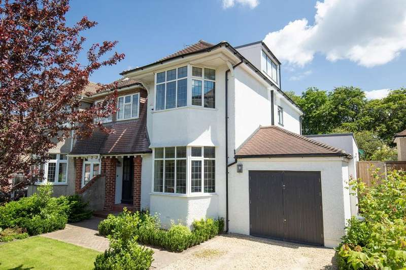 4 Bedrooms Semi Detached House for sale in The Crescent, Henleaze, Bristol, BS9