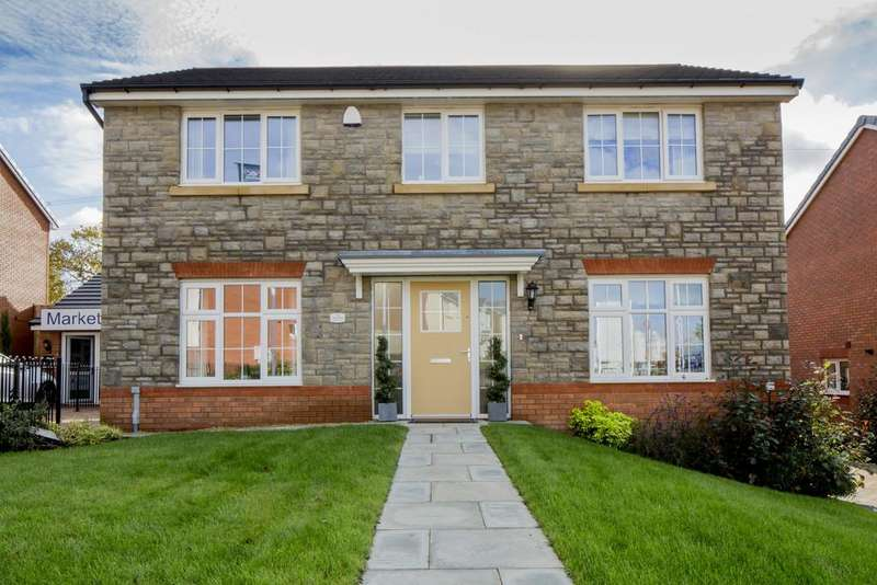 4 Bedrooms Detached House for sale in Pastures Green, Cwmbran