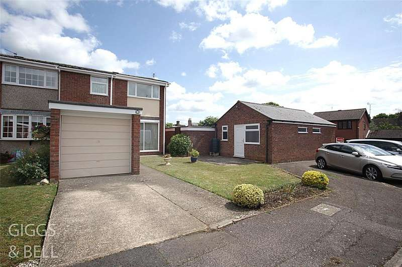 3 Bedrooms End Of Terrace House for sale in Mander Close, Toddington, Dunstable, Bedfordshire, LU5