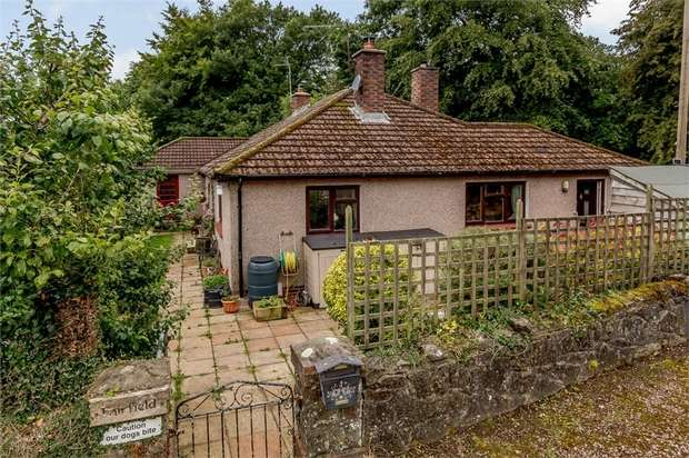 5 Bedrooms Detached Bungalow for sale in Back Road, Catbrook, Chepstow, Monmouthshire