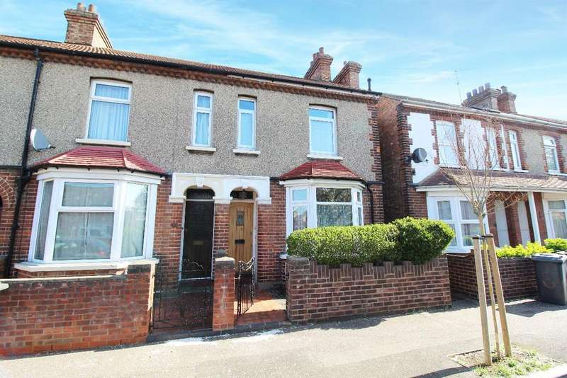 2 Bedrooms End Of Terrace House for sale in Dents Road, Bedford, MK42