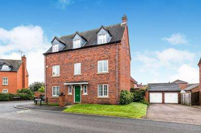 5 Bedrooms Detached House for sale in Bardell Close, Off Poolfield Road, Lichfield, Staffordshire
