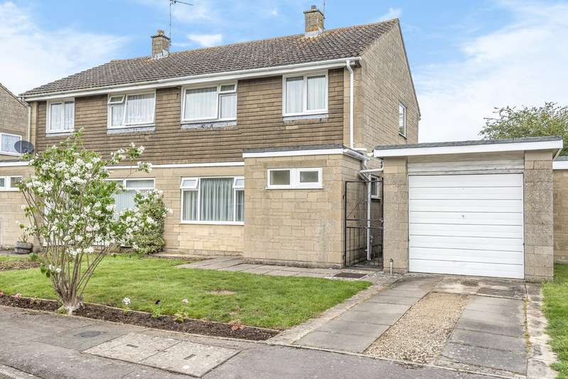 3 Bedrooms Semi Detached House for sale in Kempsford, Fairford