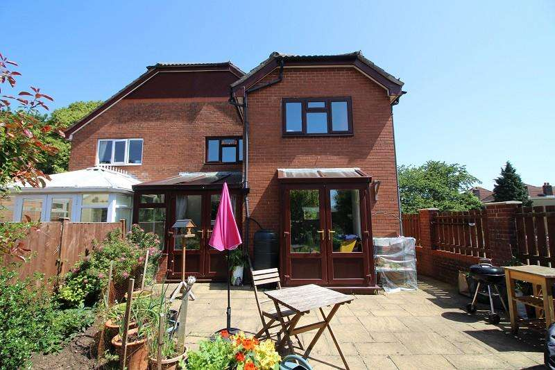 2 Bedrooms End Of Terrace House for sale in Grove Gardens, Church Road